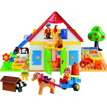 Playmobil 6750: 1.2.3 Large Farm