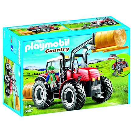 Playmobil Tractor, boxed