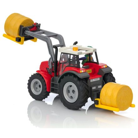 Playmobil Tractor, rear view
