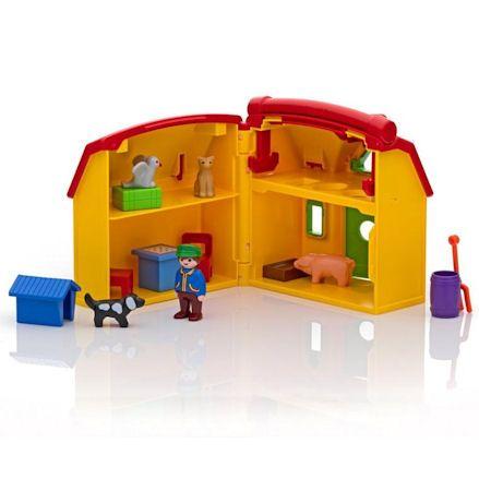 Playmobil 6962, inside