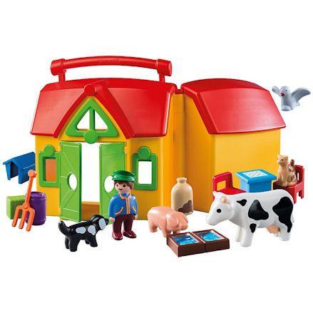 Playmobil 123 My Take Along Farm