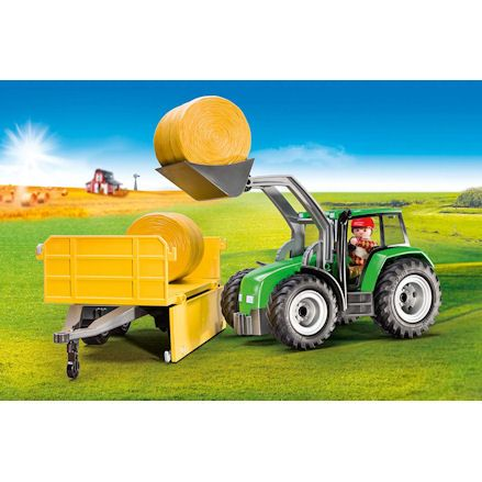 Playmobil Tractor, loader