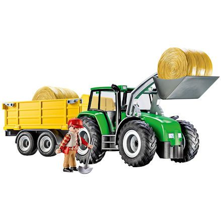Playmobil 9317: Tractor with Trailer