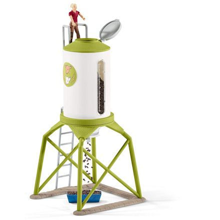 Schleich Feed Silo, functions