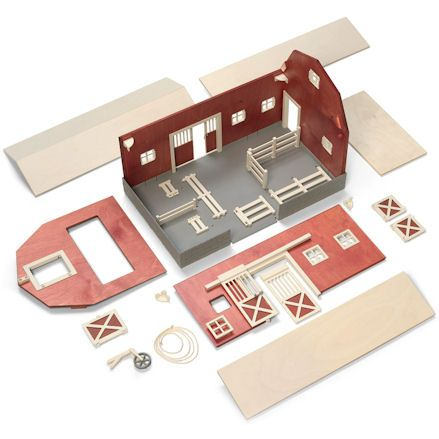 Schleich Big Red Barn, Assembly