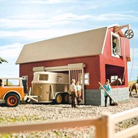 Schleich Big Red Barn, Diorama