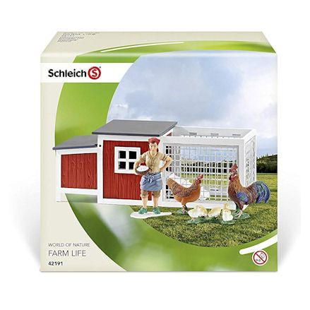 Schleich Chicken Coop, Boxed