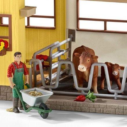 Schleich Farm Barn, Cows