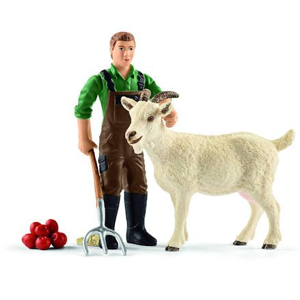 Schleich 42375: Farmer with Goat