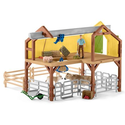 Schleich Large Farm House, Barn