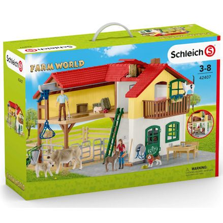 Schleich Large Farm House, Boxed