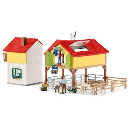 Schleich Large Farm House, Divided