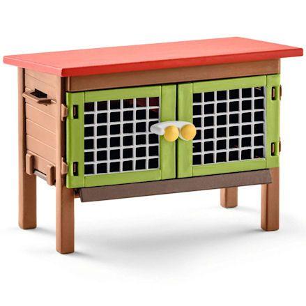 Schleich Rabbit, Cage