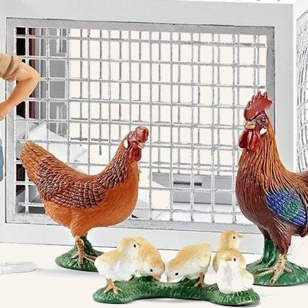 Toy Chicken Coops, Hutches